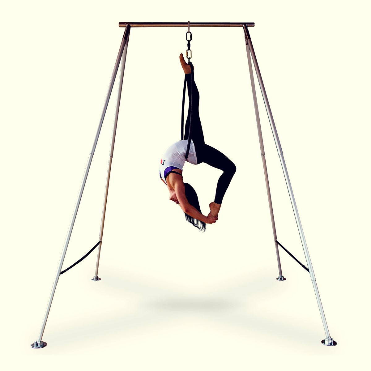 Xpole portable aframe for lyra silks u aerial yoga aerial yoga