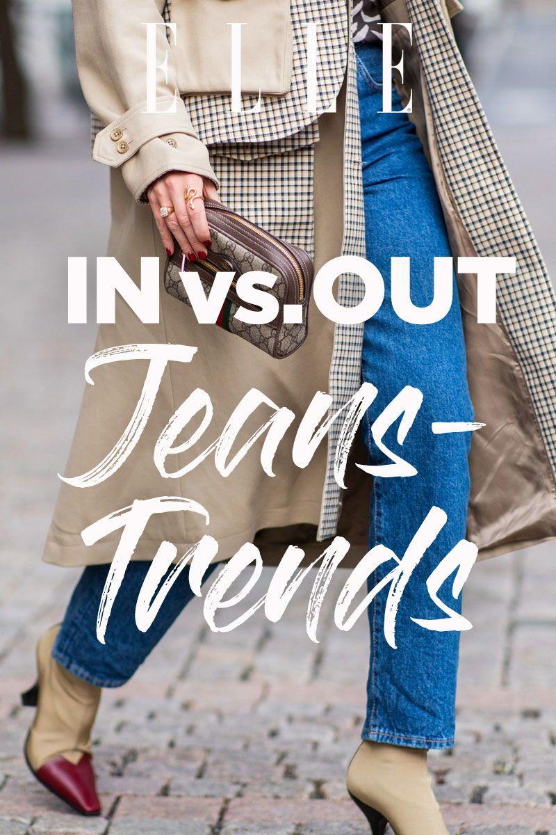 In vs. Out: Diese Jeans Trends werden 2019 alle tragen – und