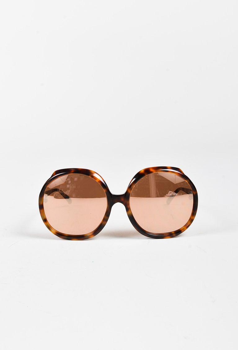 d507fc98519 Brown Tortoiseshell Oversized