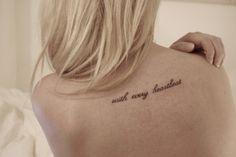 sprüche tattoo englisch