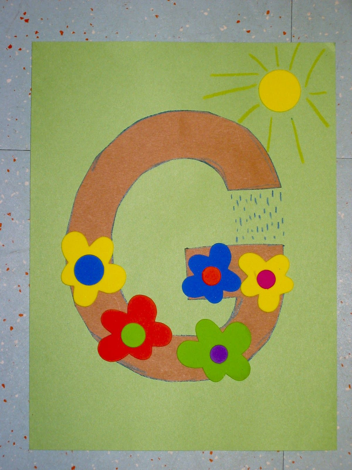 Letter s arts and crafts for preschoolers - Activities For The Letter G Preschool Google Search G Is For Garden Garden