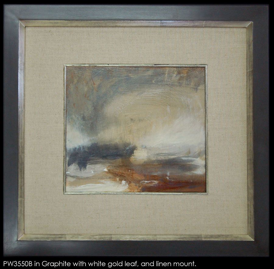 Finished Frames | Framed Oil Paintings | Frame in Graphite with ...