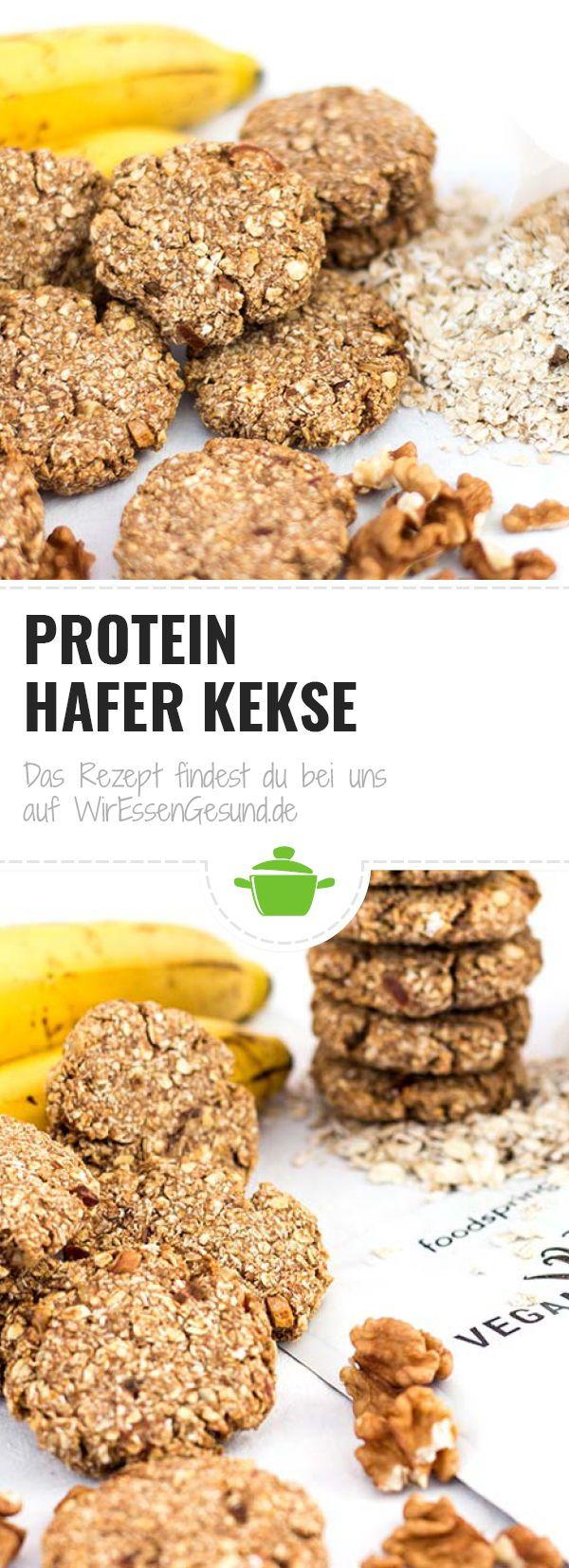 Protein Hafer Kekse - WirEssenGesund