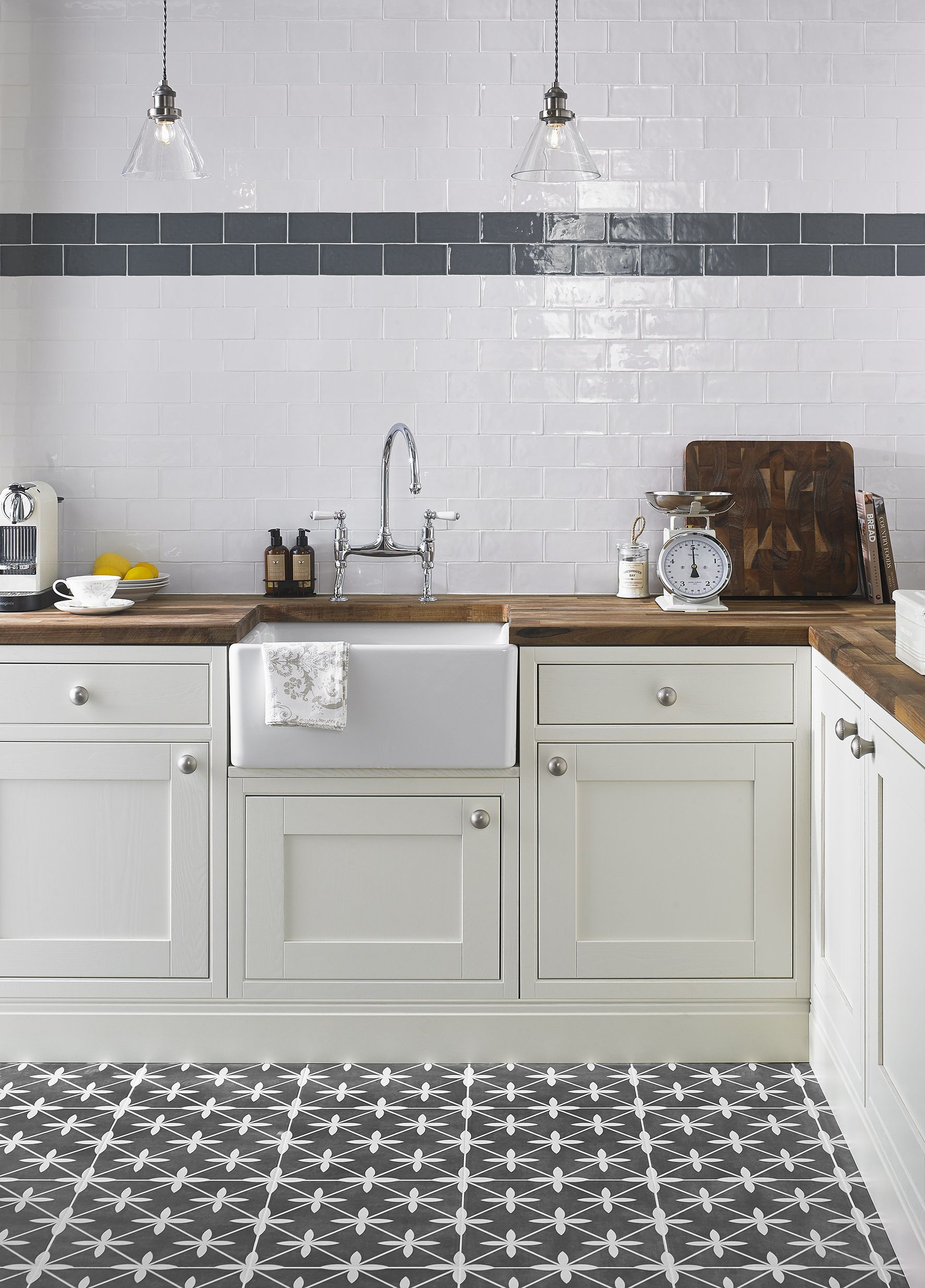 Laura Ashley Mr Jones Dove Grey Wall & Floor Tiles - Google Search ...