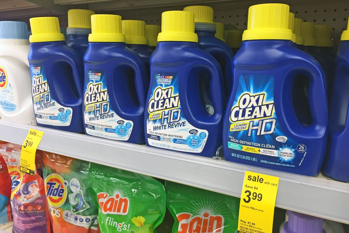 Oxiclean Digital Coupon Detergent Only 0 99 At Walgreens