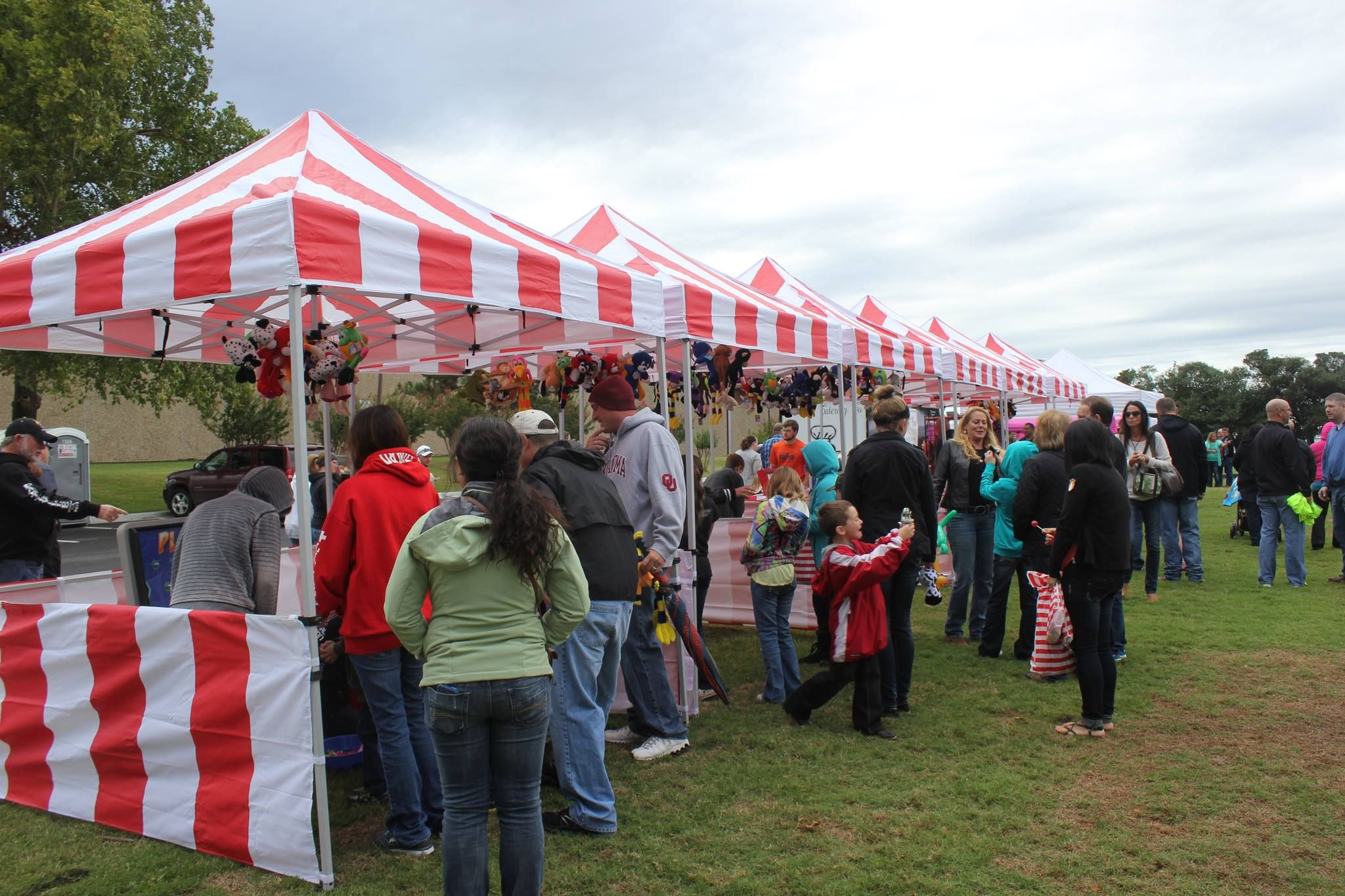 Our 8x8 red and white carnival tents are the perfect place to set up your carnival & Our 8x8 red and white carnival tents are the perfect place to set ...