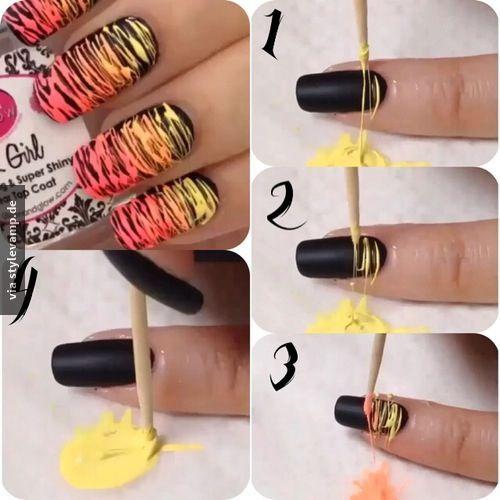 Ausgefallenes Nageldesign Naildesign Pinterest Nails