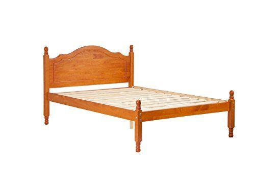 100 Solid Wood Reston Full Panel Headboard Platform Bed Https