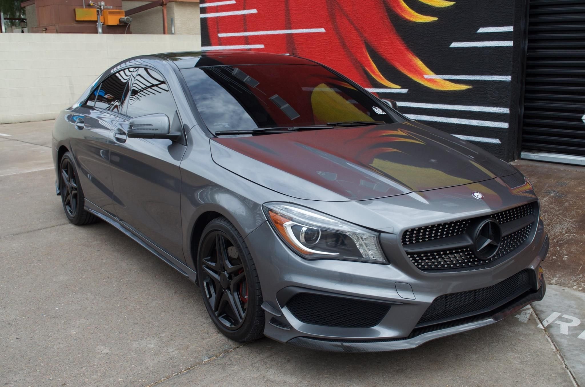 2014 Mercedes Cla250 Full Carbon Fiber Parts Install