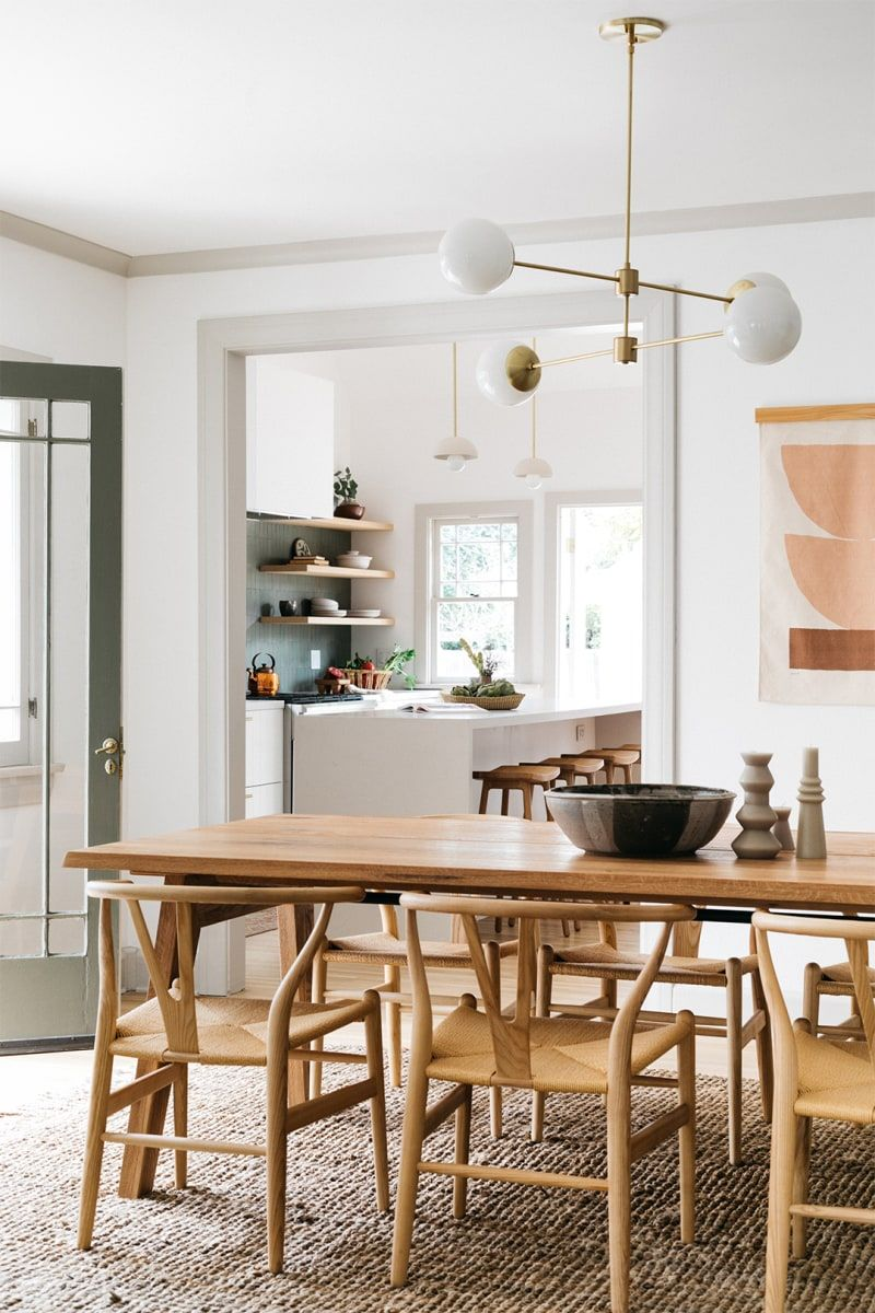 This Pasadena Kitchen Is Now Open And Airy Thanks To One Structural Change In 2020 Open Dining Room Boho Dining Room Dining Room Design