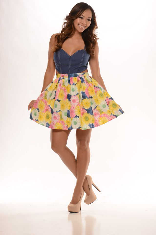 1b4bda3792 Spaghetti Strap Princess Dress - Denim