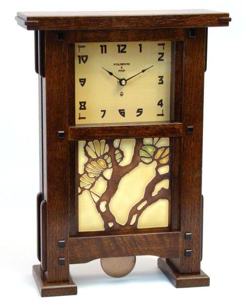 Greene and Greene Style Clock | Stickley/Craftsmen/Arts and Crafts ...