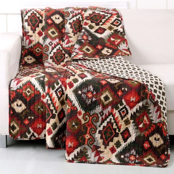 Folk Festival Rustic Cotton Throw ($42) ❤ liked on Polyvore featuring home, bed & bath, bedding, blankets, cotton throw, cotton throw blanket, cotton bed linen, cotton blanket throw and greenland home fashions