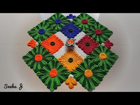 Ugadi Rangoli Design 2018 | Gudi Padwa Rangoli Design | Ugadi Muggulu - YouTube | Painting class | Pinterest | Rangoli designs Rangoli ideas and Beautiful ... & Ugadi Rangoli Design 2018 | Gudi Padwa Rangoli Design | Ugadi ...