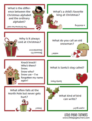 ive been seeing a lot of great posts lately with creative boredom busters and christmas activity printables i know that the holiday season - Childrens Christmas Jokes