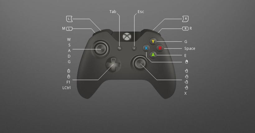 xbox controller emulator for pc keyboard