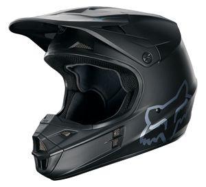 Fox V1 Helmet Matte Black With Images Dirt Bike Helmets