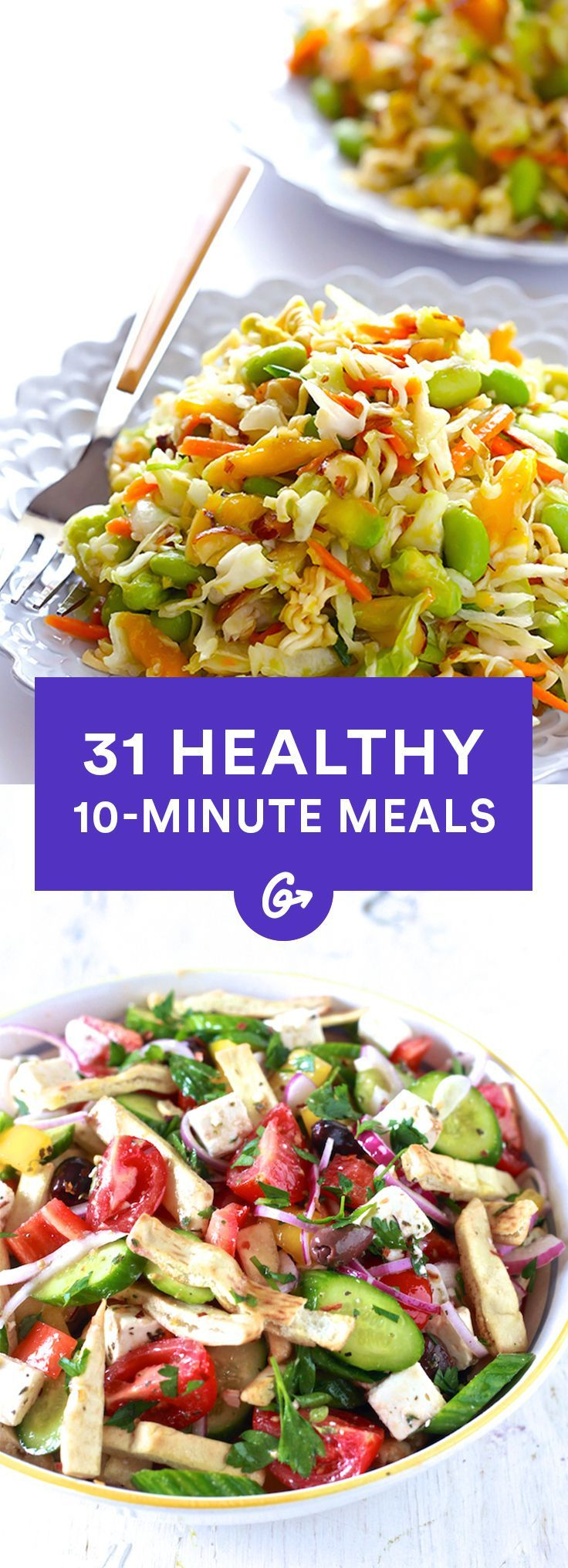 Healthy Cookout Recipes: 10-Minute Recipes—29 Healthy, Fast Meals (With Images