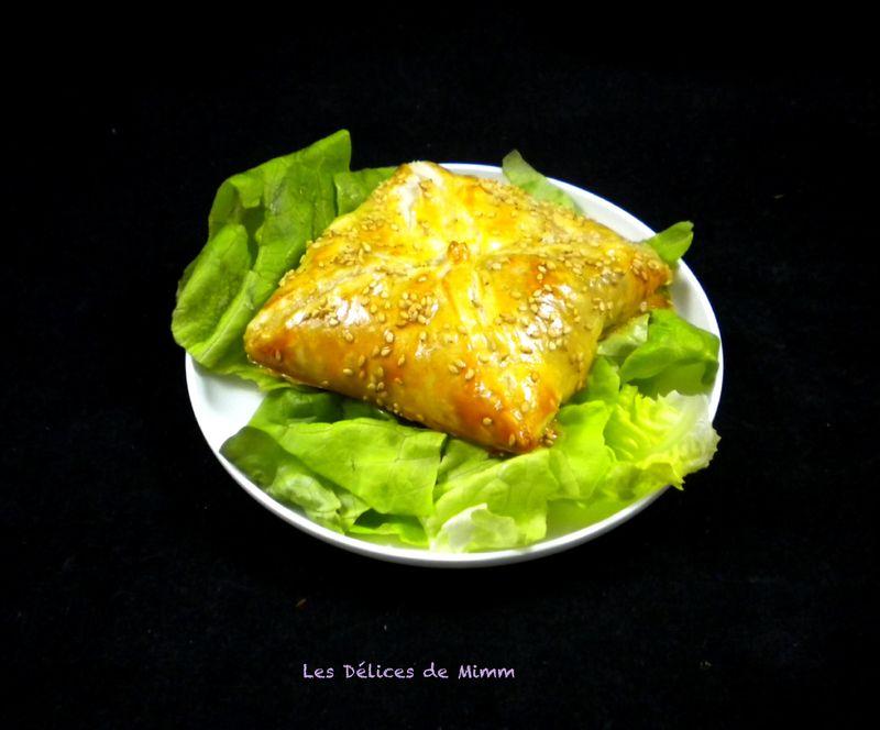 Feuilletés au camembert, pommes et lardons | Feuilleté ...
