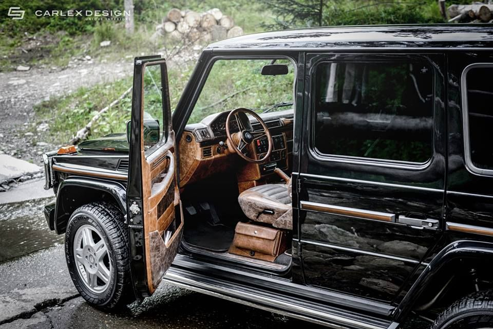 Mercedes Benz G Class Interior Given A Retro Look With Images