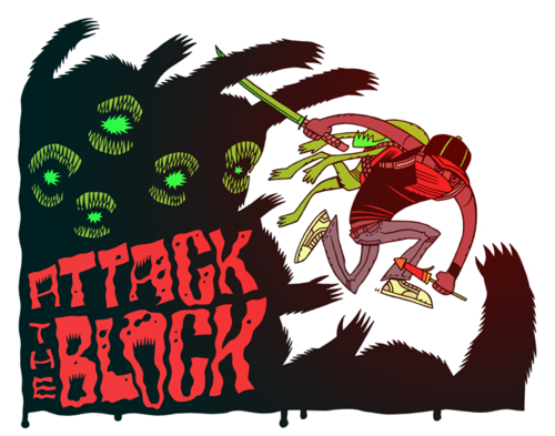 ATTACK THE BLOCK | by Dan Hipp