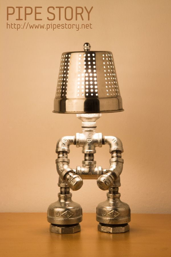 [PIPE LAMP] PIPE STORY Produce And Sell Genuine Handmade Industrial Vintage  Style Pipe Lamps