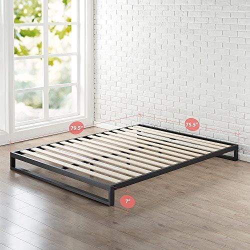 Zinus 7 034 Heavy Duty Low Profile Platforma Bed Frame Bedroom