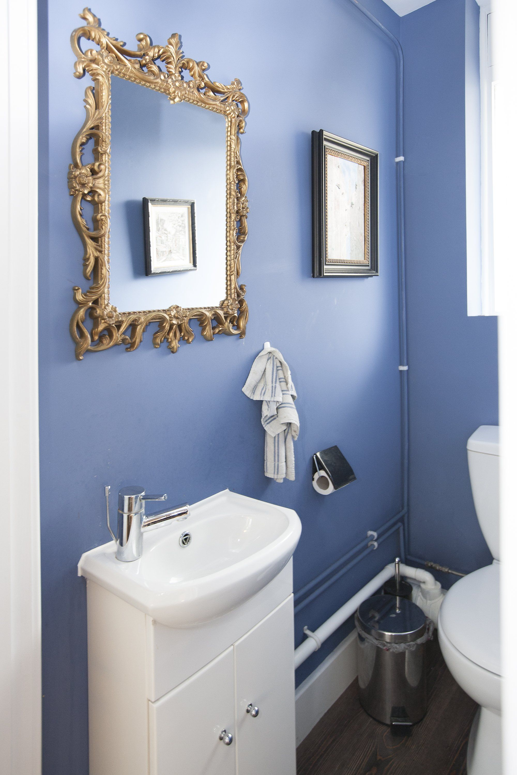 Perfect Paint Colors That Match This Apartment Therapy Photo: SW 2739 Charcoal  Blue, SW 6529