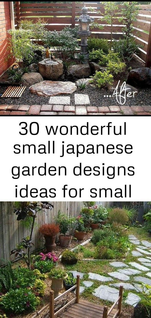 30 wonderful small japanese garden designs ideas for small space in your houses #smalljapanesegarden Small Japanese Garden Designs Ideas 260 DIY Japanese Garden Design and Decor Ideas 19 I LOVE these zen Japanese garden ideas! I want to design my backyard landscape with a path, lanterns and plants and now I have lots of garden inspiration to do it. #fromhousetohome #gardeningideas #gardendesign #japanesegardendesign