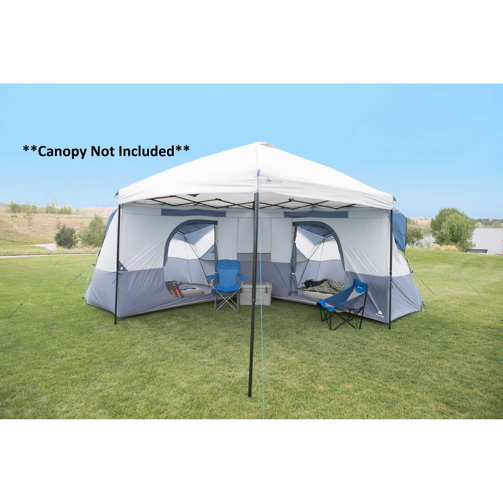 Ozark Trail 8 Person Connect Tent Straight Leg Canopy Sold Separately Walmart Com Tent Tent Glamping Ozark