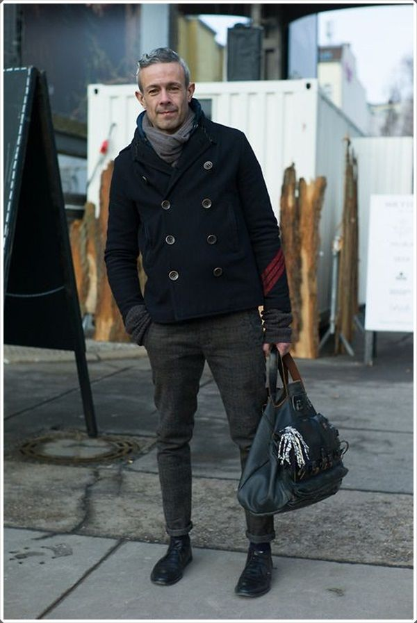 Regardless of your age, you are perfectly fine for wearing a pea coat.