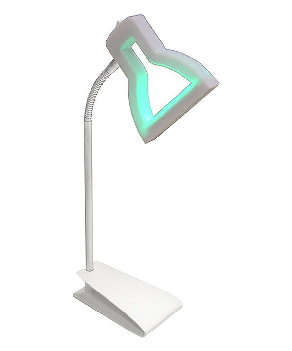 Look At This White 2d Led Table Lamp On Zulily Today Lamp Table Lamp Led Table Lamp