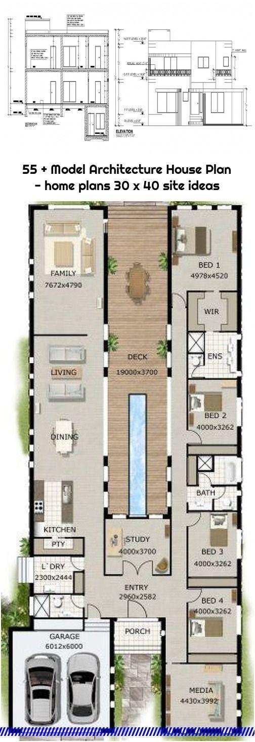 55 Model Architecture House Plan Home Plans 30 X 40 Site Ideas In 2020 Architecture House Affordable House Plans House Plans