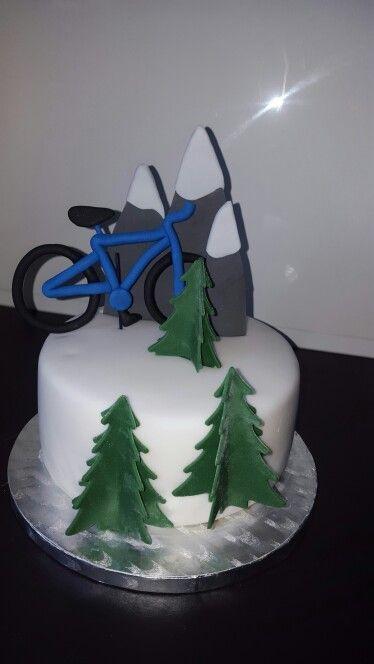#torte#cake#berge#fahrrad#schnee#tannenbaum