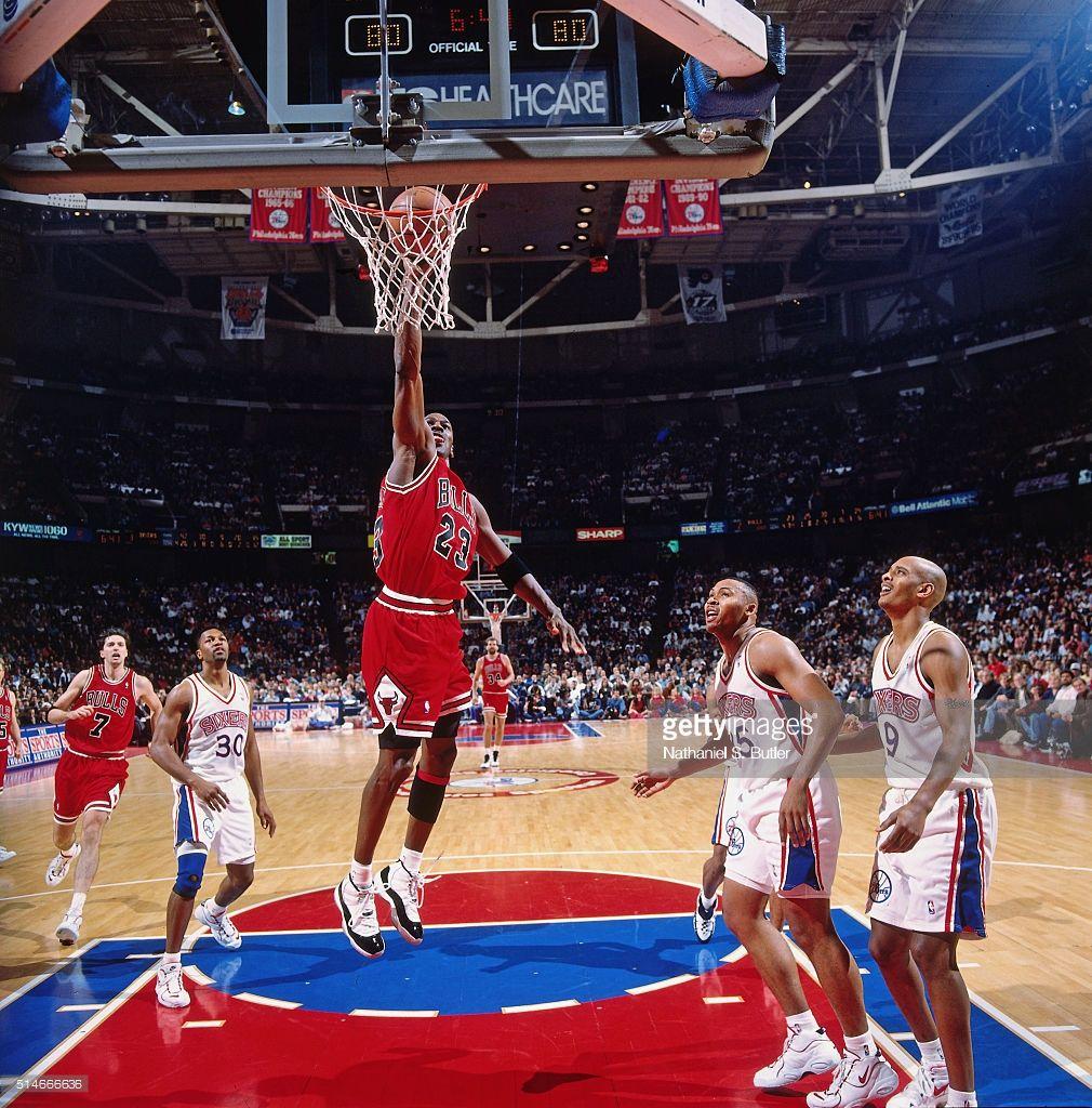 nouveau style 9c6e3 66d5f Fotografia de notícias : Michael Jordan of the Chicago Bulls ...