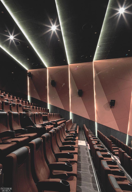4n Design Architects Gives a Shanghai Movie House Its Own Narrative   Auditorium design. Cinema design. Architect design