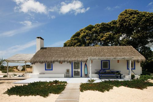 Het strandhuis van je dromen #strandhuis
