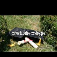 done!  -- graduate college