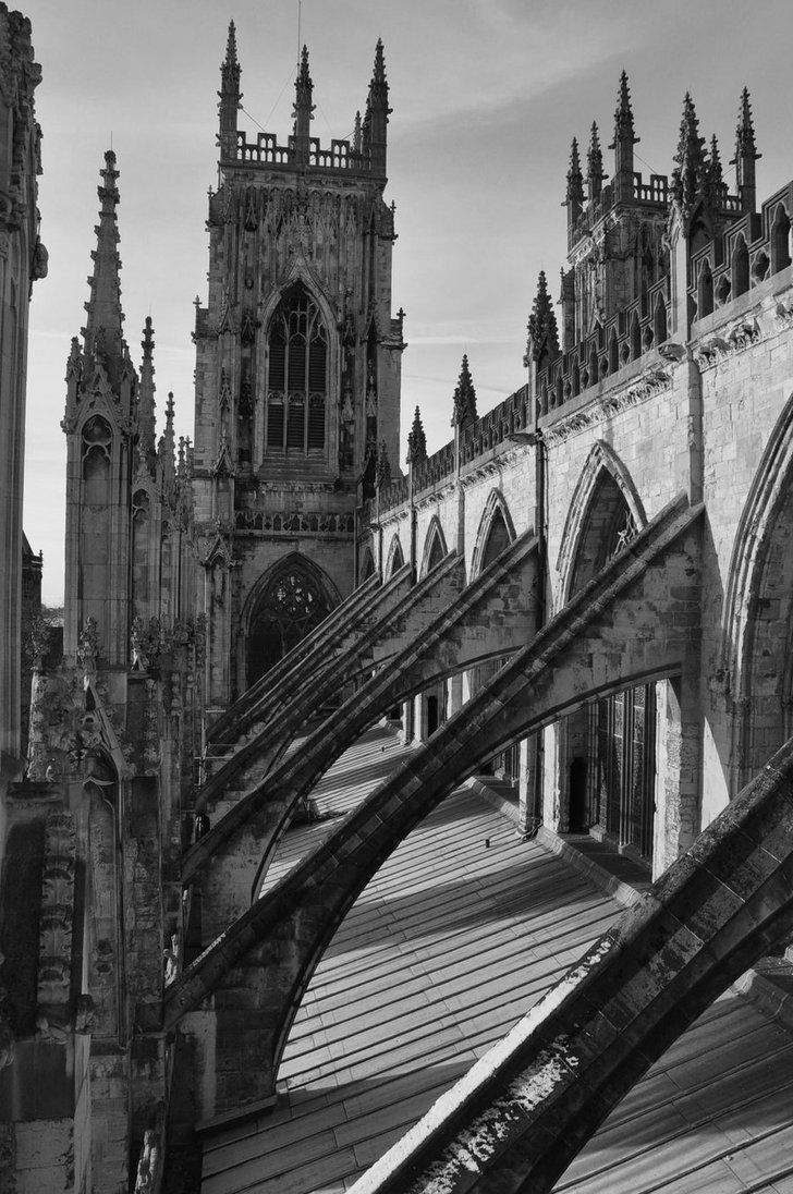 Flying Buttress By Juu Ninto Iro On Deviantart Gothic Aesthetic Flying Buttress Renaissance Architecture
