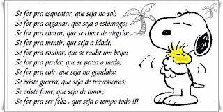 Hoje E Tempo De Ser Feliz Snoopy Desenho Mensagens Snoopy