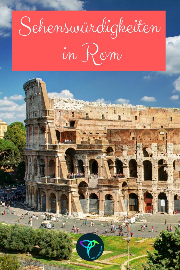 Rom Sehenswürdigkeiten Karte Deutsch.Die 18 Wichtigsten Rom Sehenswürdigkeiten Für 3 Tage Reisen