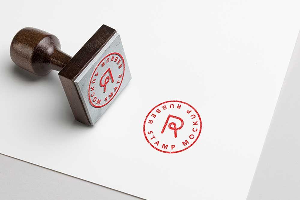 Free Download Rubber Stamp Mockup For Presentation Mockup Design