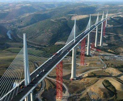 Millau Viaduct (France): World's Highest Bridge  Share If Like It!!
