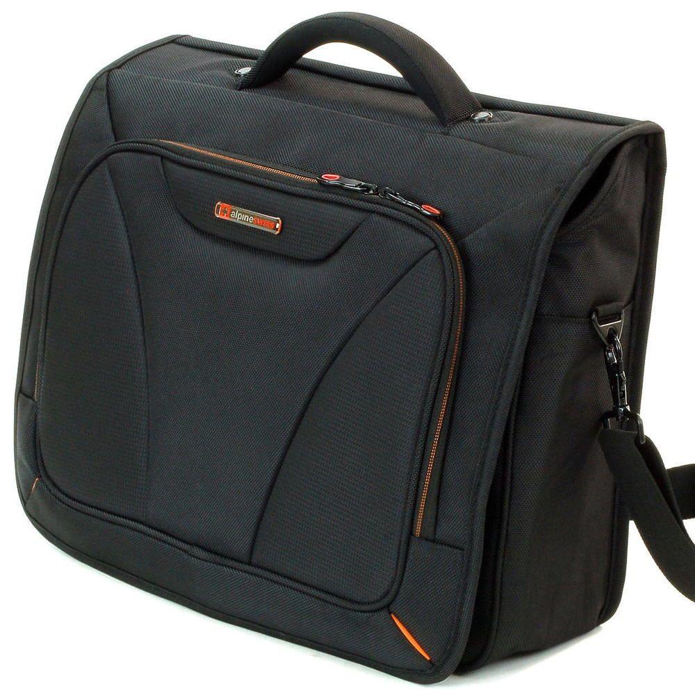 "Alpine Swiss 15.6"" Laptop Computer Case Messenger Bag Briefcase Sleeve NW Black For Great Deals, Visit http://www.ebay.com/usr/usa-select-commerce #AlpineSwiss #LaptopBag #LaptopMessengerBag #MessengerBag #Briefcase #bag"