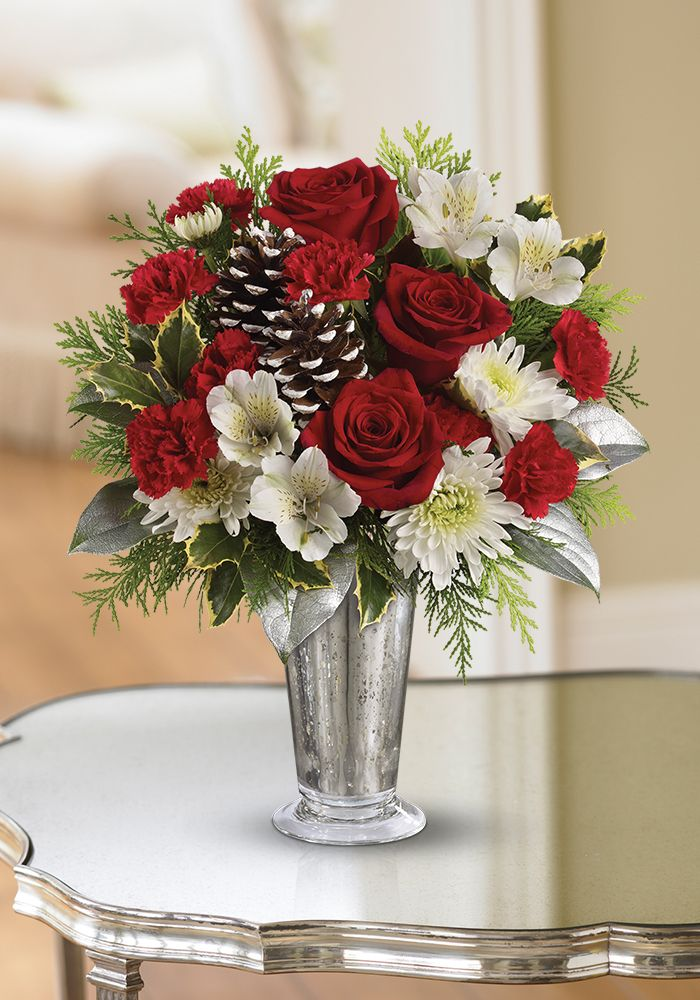 Great for gifting Teleflora's Timeless Cheer Bouquet