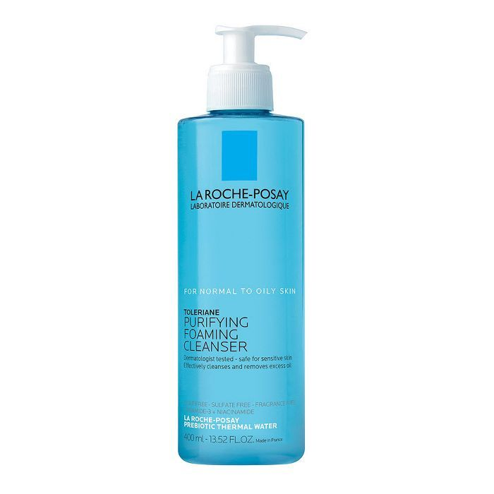 La Roche Posay Toleriane Purifying Foaming Face Cleanser Normal To Oily Skin 13 5oz In 2021 Face Wash Cleanser Face Cleanser Oily Skin Skin Face Wash