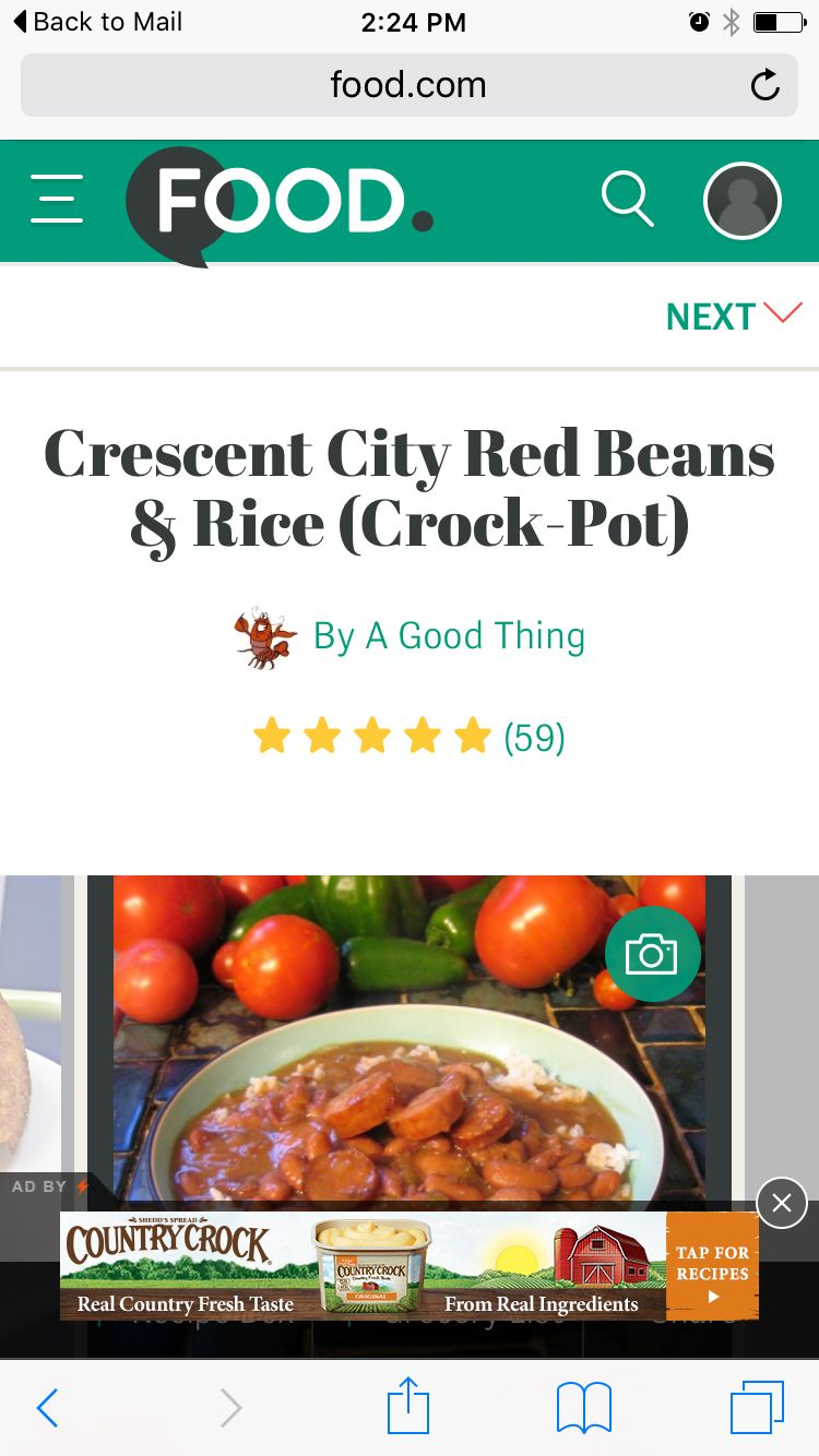 Food.com to find recipe