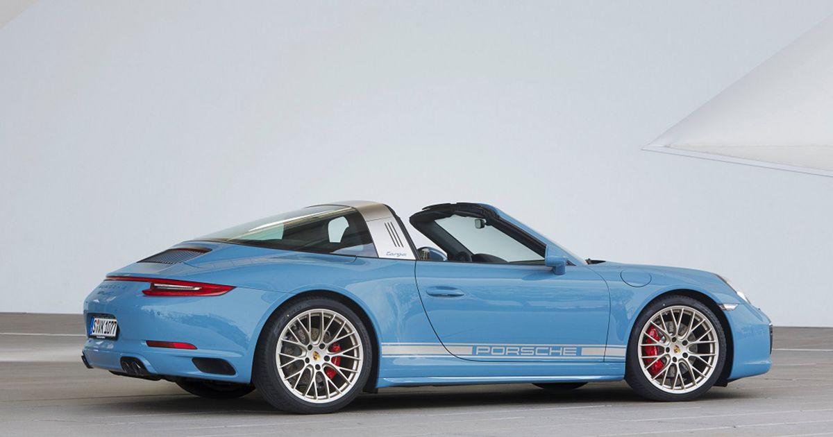 Dafür sorgen auch die Anbauteile: Einige Teile des Porsche 911 Targa Exclusive…