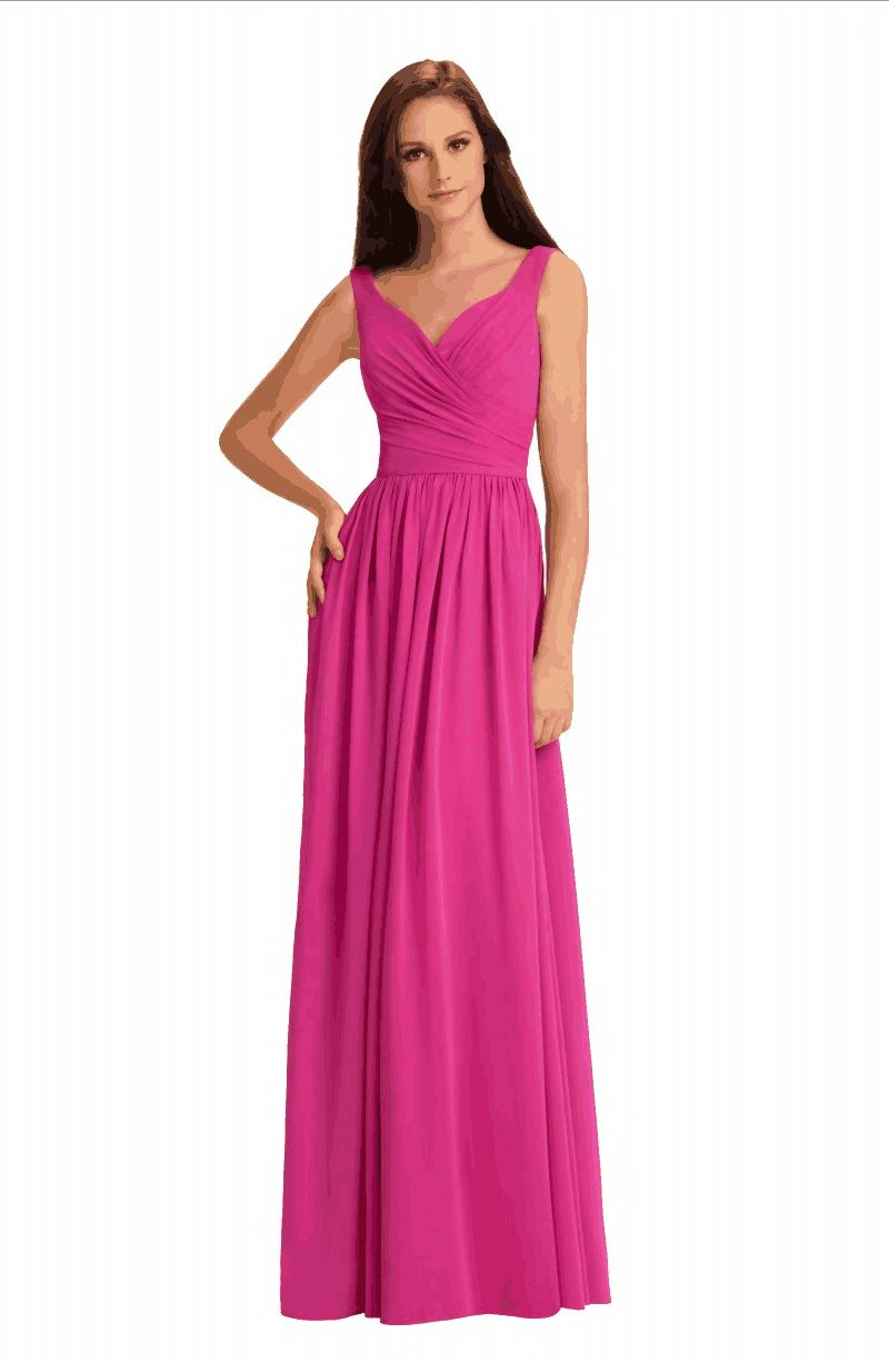 L7404 Andrew Adela long bridesmaid dress. Check out the latest ...