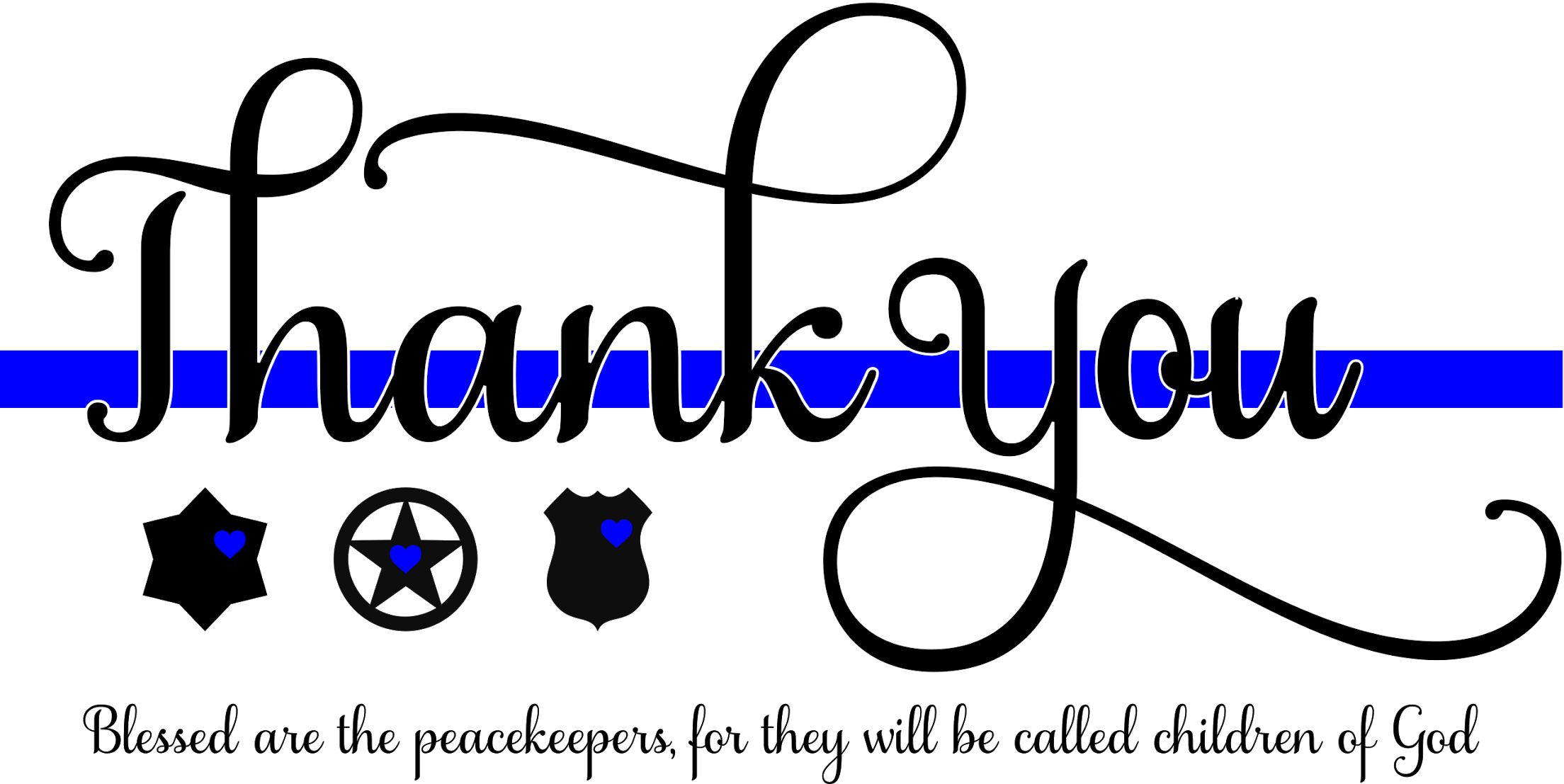 Thank you! National police week Quotes and sayings